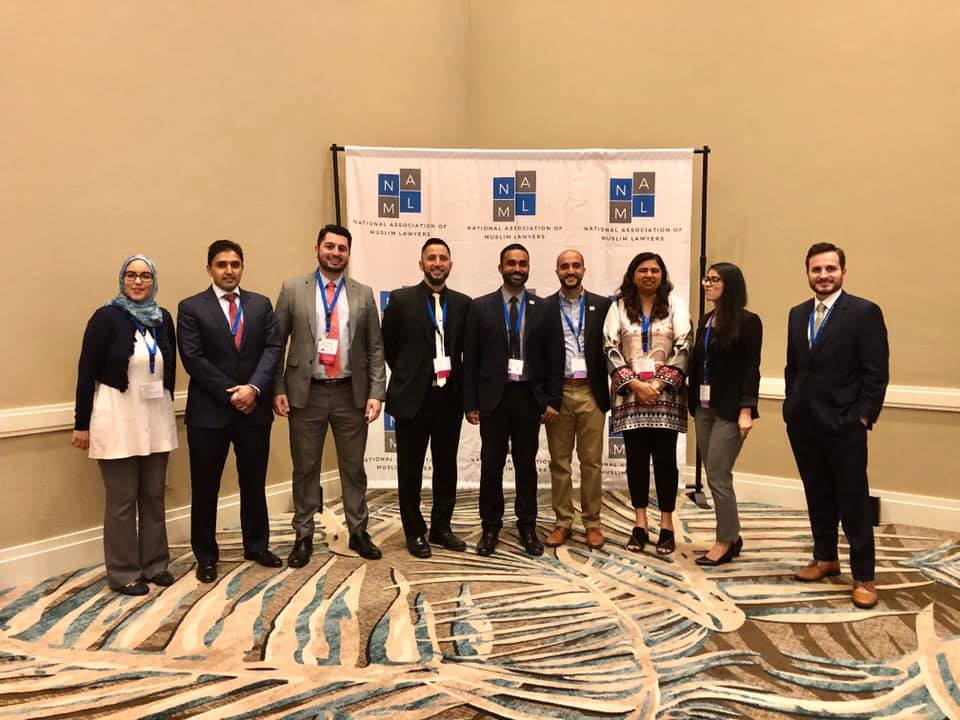California attendees at the National Association of Muslim Lawyers (NAML) Conference this weekend in Florida.